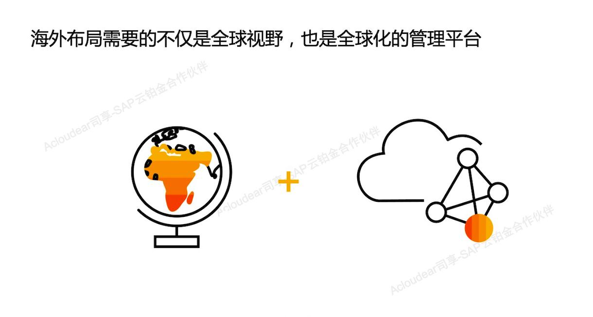 International ERP of group company 1