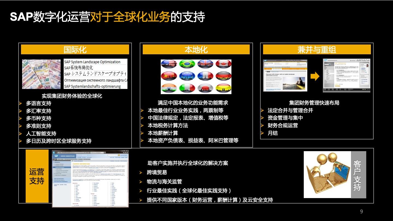 International ERP of group company 3